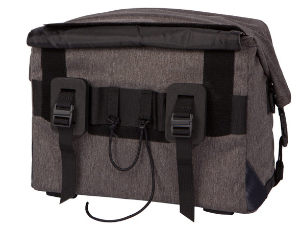 Two Wheel Gear - Dayliner Box Bag - Graphite Grey - Handlebar Back (4382371676230)