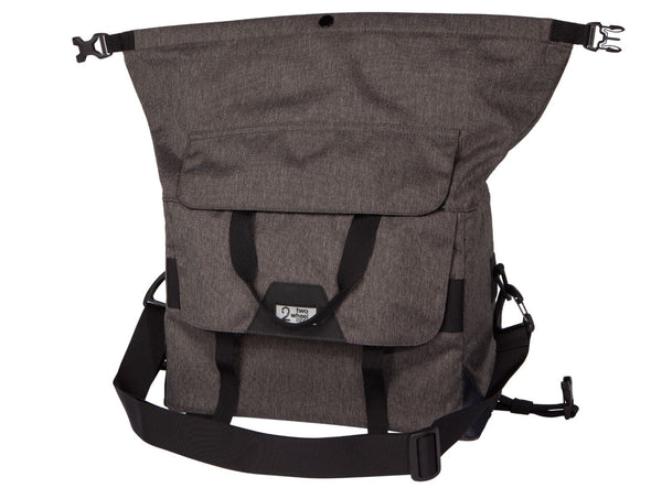 Two Wheel Gear - Dayliner Box Bag - Graphite Grey - Trunk Handlebar Rolltop (4382371676230)
