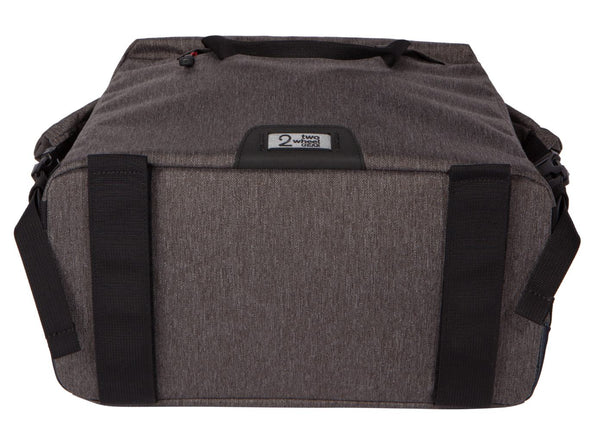 Two Wheel Gear - Dayliner Box Bag - Graphite Grey - Trunk Handlebar Bottom Straps (4382371676230)