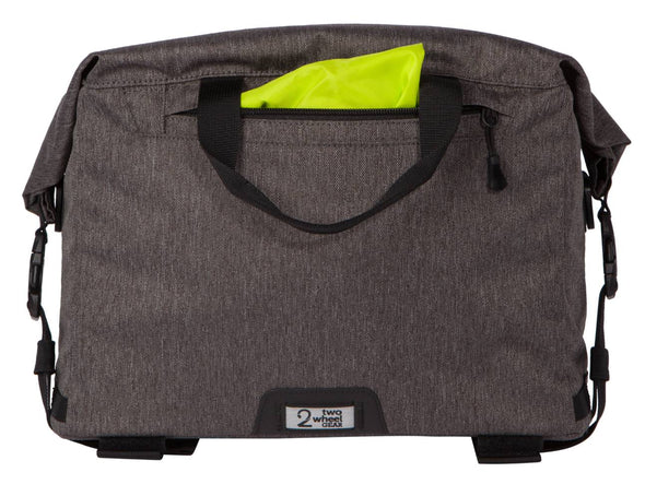 Two Wheel Gear - Dayliner Box Bag - Graphite Grey - Trunk Handlebar - Rain Cover (4382371676230)