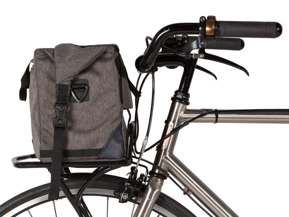 Two Wheel Gear - Dayliner Box Bag - Graphite Grey - Trunk Handlebar Front Bike (4382371676230)