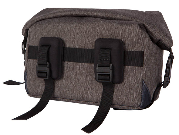 Two Wheel Gear - Dayliner Mini Handlebar Bag - Graphite Grey - Back Mounts for handlebars (4382909104198)