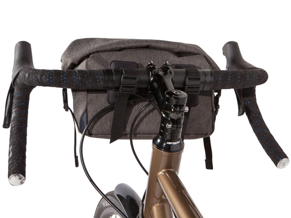 Two Wheel Gear - Dayliner Mini Handlebar Bag - Graphite Grey - on Bike Back (4382909104198)