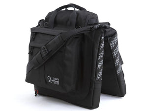 Two Wheel Gear - Garment Pannier - Classic 2.1 - Black - Bike Bag - Standing (1556347519011)