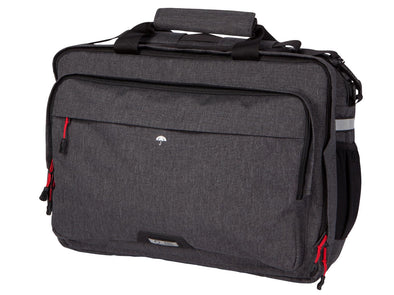 Two Wheel Gear - Pannier Laptop Messenger - Graphite Grey - Front (4382971035718)