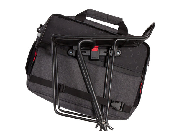 Two Wheel Gear - Pannier Laptop Messenger - Graphite Grey - KLICKfix Kompakt Rail (4382971035718)