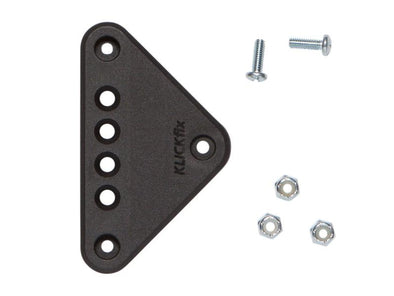Two Wheel Gear - KLICKfix Triangle Base Plate with screws