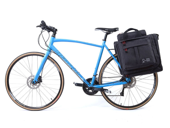 Graphite - Bike Bags - Classic 2.0 Garment Pannier (2018) - Bicycle Suit Carrier (600732434467)