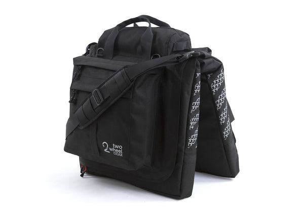 Black - Bike Bags - Classic 2.0 Garment Pannier (2018) - Suit Carrier