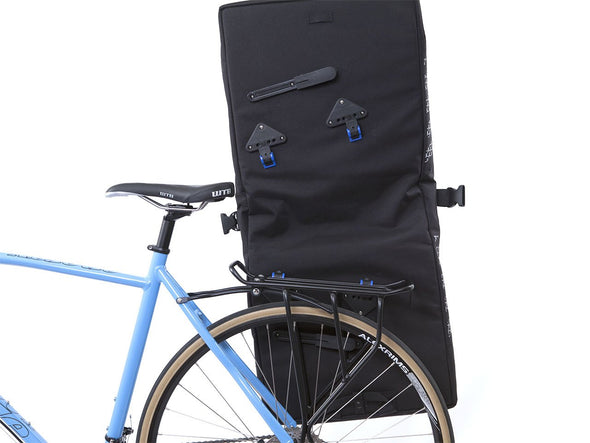 Black - Bike Bags - Classic 2.0 Garment Pannier (2018) - Bicycle Suit Carrier