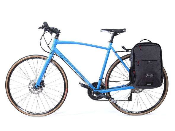 Graphite - Bike Bags - Pannier Backpack Convertible (2018) - Bicycle Laptop Bag (600727191587)