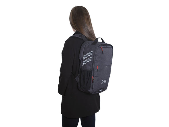 Graphite - Bike Bags - Pannier Backpack Convertible (2018) - Bicycle Laptop Bag - Woman
