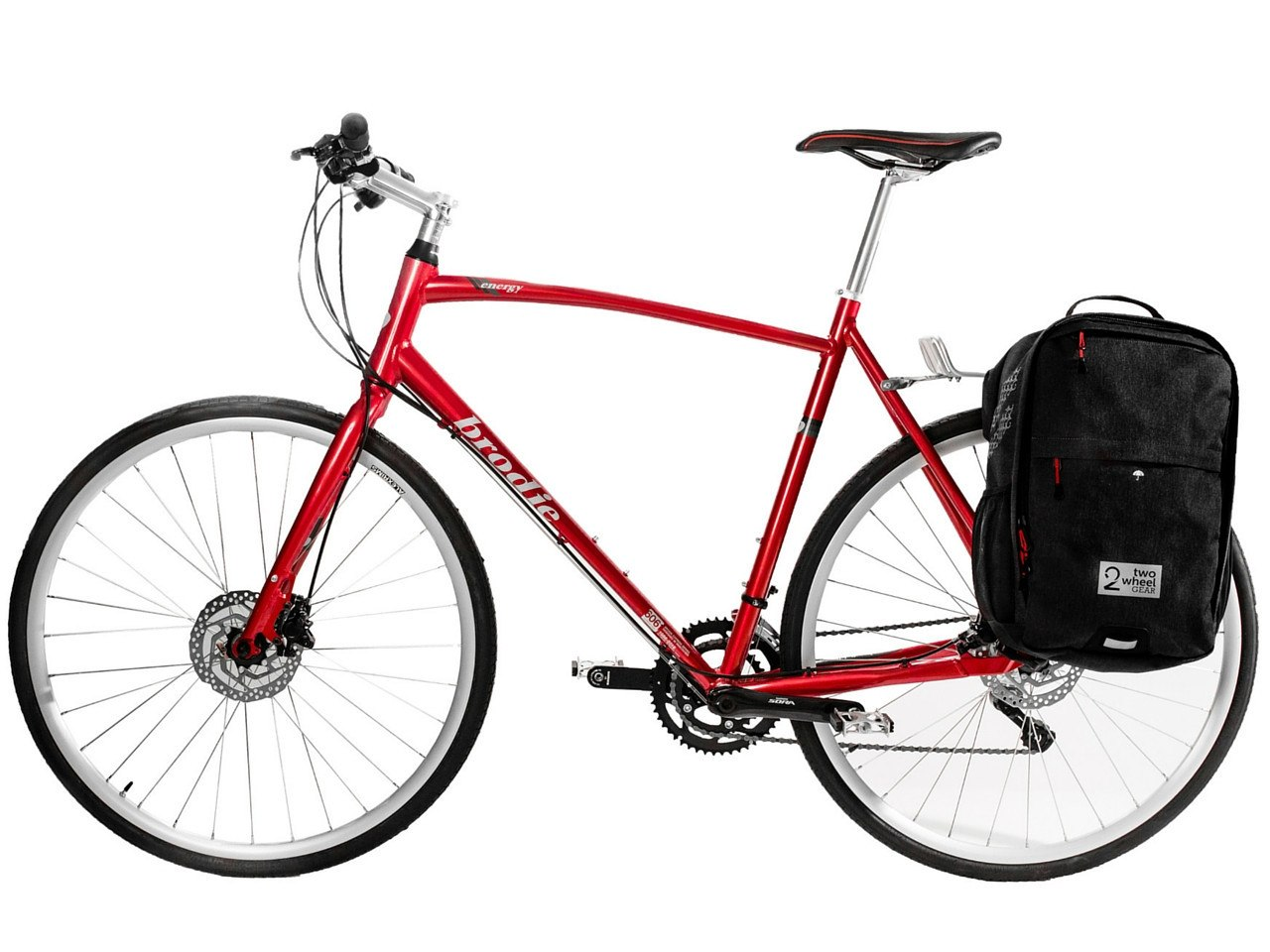 Bags - Pannier Backpack Convertible - Black on Bike