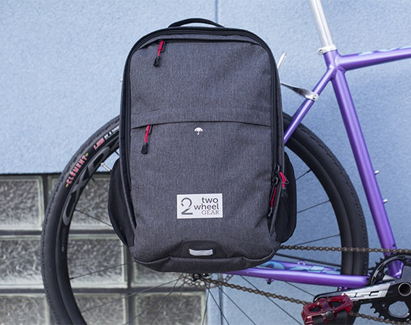 Bags - Pannier Backpack Convertible - Graphite - On Rack