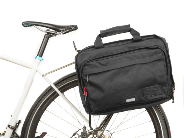 Canvas - Bike Bags - Pannier Briefcase Convertible (2018) - Laptop Messenger