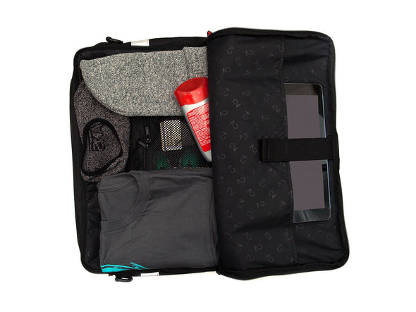 Black, Graphite, Canvas - Bike Bags - Pannier Briefcase Convertible (2018) - Bicycle Laptop Messenger