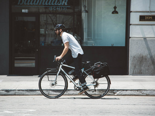 Canvas - Bike Bags - Pannier Briefcase Convertible (2018) - Bicycle Laptop Messenger (600723062819)