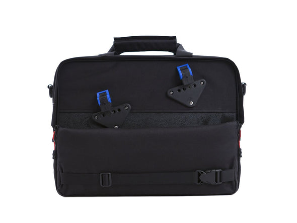 Black - Bike Bags - Pannier Briefcase Convertible (2018) - Laptop Messenger (600723062819)
