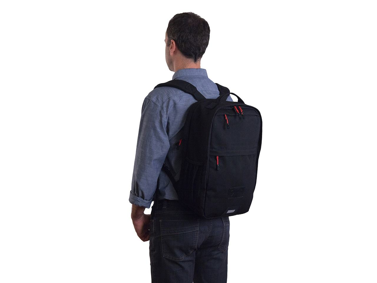 Pannier Backpack Convertible - Military Waxed Canvas