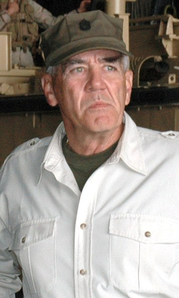 R. Lee Ermey, famous for his tough-guy role in 'Full Metal Jacket,' dies at 74