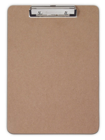Saunders Recycled Hardboard Clipboard – Letter/A4 Size – Low Profile Clip - Mad City Outdoor Gear