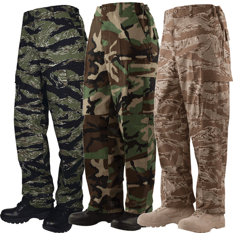 Tru-Spec BDU Camouflage Pants (100% Cotton)