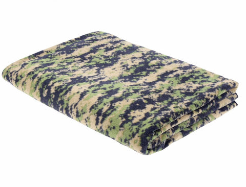 Rothco Fleece Woodland Digital Camo Blanket