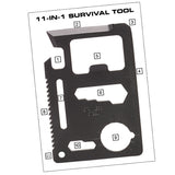 NDuR  11-IN-1 Survival Tool - Mad City Outdoor Gear