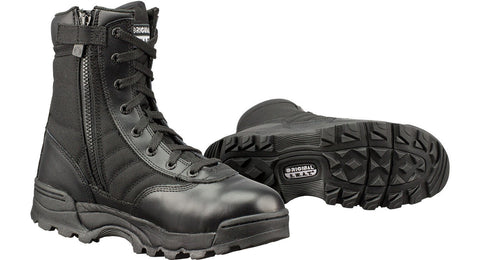 Original SWAT Classic 9 Black Side-Zip Boots - Mad City Outdoor Gear