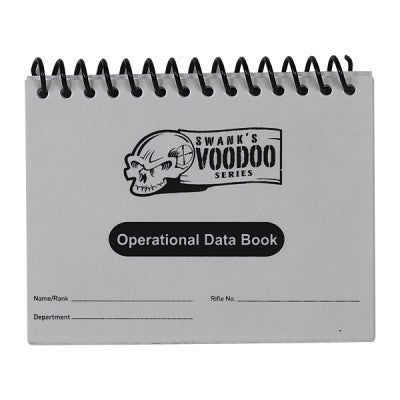 Voodoo Tactical Operational Data Book - Mad City Outdoor Gear