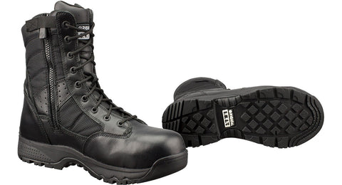 "Original SWAT Womens Metro 9"" Waterproof Side-Zip Safety Boots - Mad City Outdoor Gear"