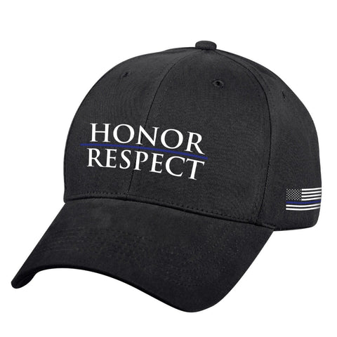 Rothco Honor and Respect Low Profile Cap - Black