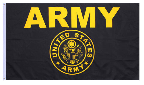 Rothco Black & Gold Army Flag