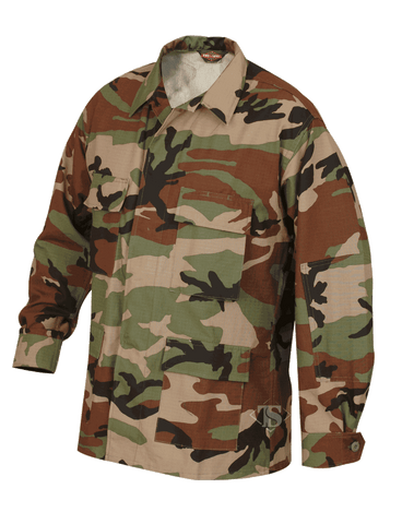 Tru-Spec BDU Camouflage Coat (100% Cotton)