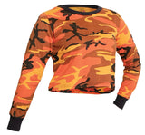 Rothco Women's Camo Long Sleeve Crop Top