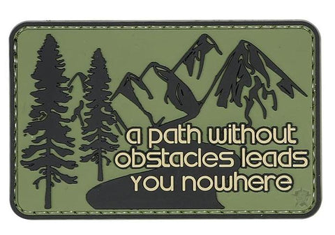 Tru-Spec PVC Morale Patch Without Obstacles