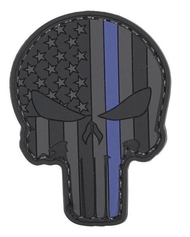 Tru-Spec PVC Morale Patch Law Enforcement Punisher