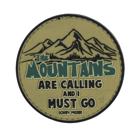 Tru-Spec PVC Morale Patch The Mountains are Calling