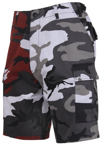 Rothco Two-Tone Camo BDU Short Red Camo / City Camo