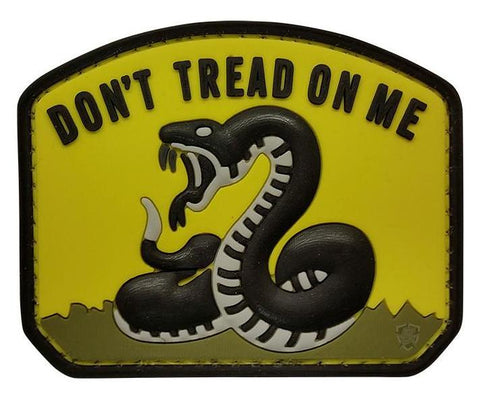 Tru-Spec Yellow Dont Tread Morale Patch