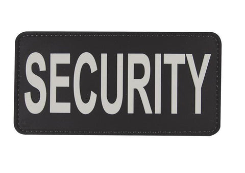 "Tru-Spec Security 6"" X 3"" Black & White Patch"
