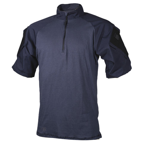 Tru-Spec 1/4 Zip Short Sleeve Tactical Response Navy Combat Shirt sales for $37.91