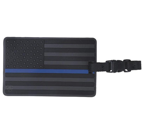 Tru-Spec US Flag with Thin Blue Line Luggage Tag