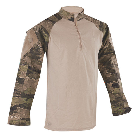 Tru-Spec 1/4 Zip Tactical Response Uniform A-Tacs iX Combat Shirt sales for $73.95