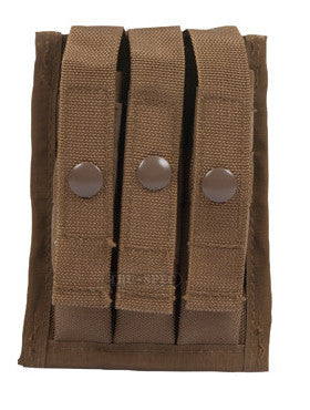 Tru-Spec MOLLE Compatible 9mm 3-Mag Pouch