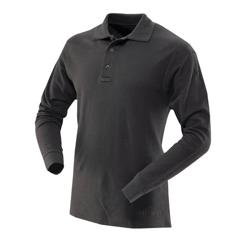 Tru-Spec 24-7 Series Mens Long Sleeve Classic 100% Cotton Polo