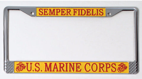 US Marines License Plate Frame