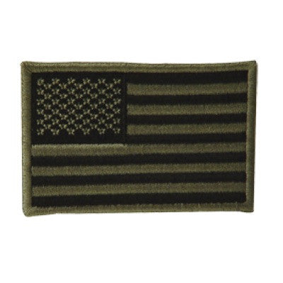 Voodoo Tactical Embroidered USA Military Flag Patch - Mad City Outdoor Gear