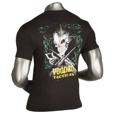 Voodoo Tactical T-Shirt Skull