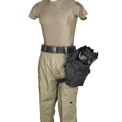 Voodoo Tactical Deluxe Drop Leg Gas Mask Carrier - Mad City Outdoor Gear